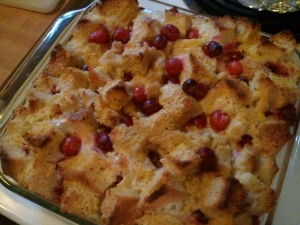 Baked cranberry goodness