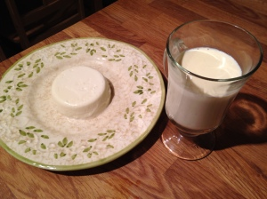 Panna cotta, two ways